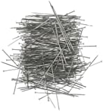 Prym 24485 0.60 x 34 mm 25 g Straight Pins, Silver