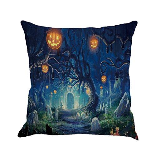 Vovotrade Leinen Sofa Kissenbezug Home Decor Für Halloween (B)