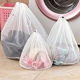 BESTOMZ Kleider Unterwäsche Socken Mesh Wäschebeutel Wäschesäcke Wäschenetz mit Zugkordel für die Waschmaschine