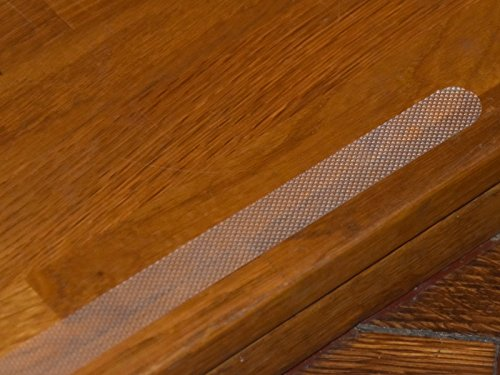 Anti-Rutsch Streifen für Treppen, Duschen & Badewannen -K&B Vertrieb- EXTRA LANG transparent selbstklebend 019 (20 Stück)