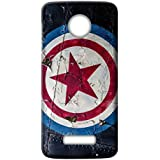 Mott2 Back Case For Motorola Moto Z2 Play | Motorola Moto Z2 PlayBack Cover | Motorola Moto Z2 Play Back Case - Printed Designer Hard Plastic Case - Captain America Theme - B075HFTDP6
