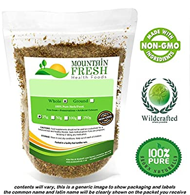 Organic Hemp Seeds 25g FREE UK Delivery from Mountain Fresh