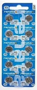 Renata - Pile bouton oxyde argent 365 RENATA 1.55V 40mAh - Blister(s) x 1