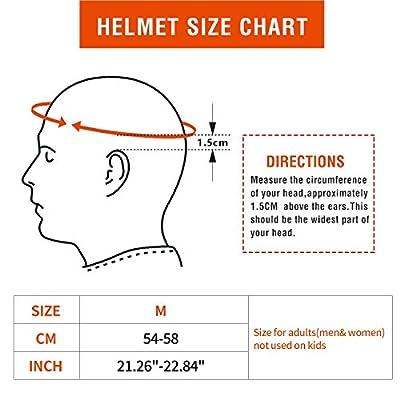 Exclusky BGE Mountain Bike Helmet Lightweight Bicycle Cycle Helmets for Women Men from Exclusky