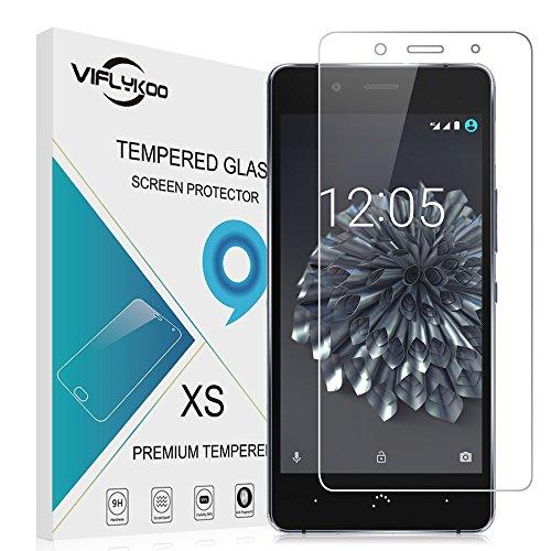 BQ Aquaris X5 Plus Protector de Pantalla, VIFLYKOO 9H Dureza BQ Aquaris X5 Plus Cristal Templado Vidrio Templado para BQ Aquaris X5 Plus 5.0 Samrtphone Tempered Glass Screen Protector