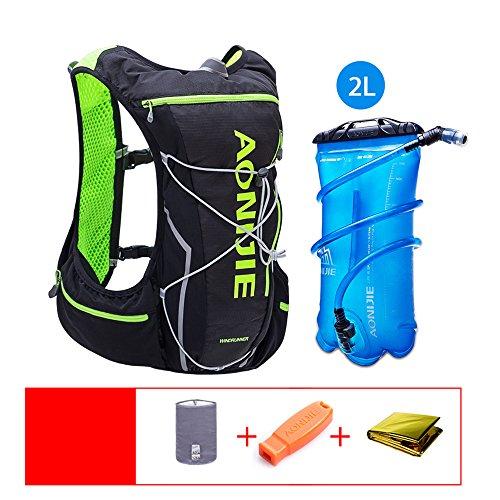 Imagen de lixada aonijie hidratación pack  con vejiga de agua 2l para correr senderismo ciclismo escalada camping