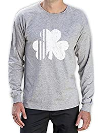 Saint Patrick's Day Irish Shamrock Four-Leaf Clover Long Sleeve T-Shirt