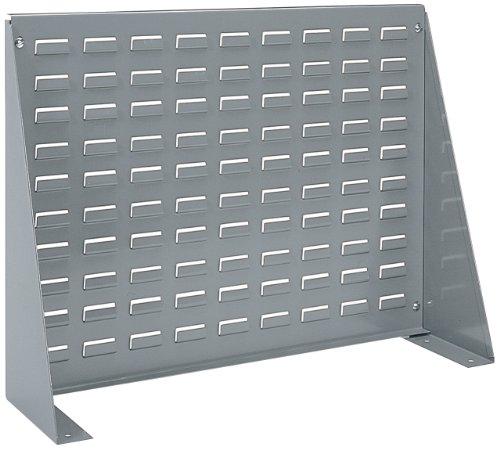 akro-mils Stahl mit Belüftungsschlitzen Panel Bench Rack für die Montage akrobins, 71cm L von 20H von 8–1/2W, 98600