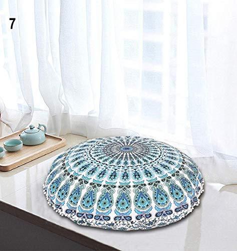 InicioDecorBoutique Funda de cojín para el Suelo con diseño de Mandala Hippie, tamaño Grande, diseño...