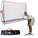 COSTWAY Red de Práctica para Golf 300 x 213 x 91 cm Formación Entrenamiento de Golf