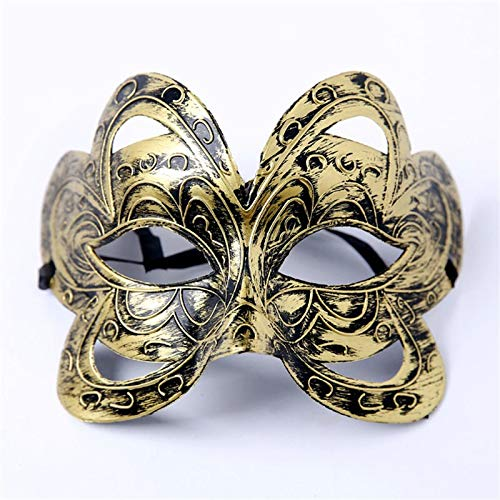Masquerade Ball Christmas Kostüm - MASKUOY Halloween-Maske Big Butterfly Prinzessin Maske Half Face Dancing Maske Frauen Mädchen Masquerade Ball Kostüm Make Up Party Prinzessin Maske