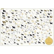 Pop Chart Lab The Diagram of Dogs - Póster de 61 x 46 cm, multicolor