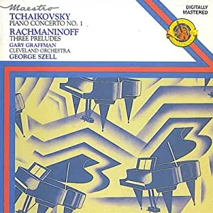 TCHAIKOVSKY Piano Concerto No. 1 / RACHMANINOFF Three Preludes [UK Import]