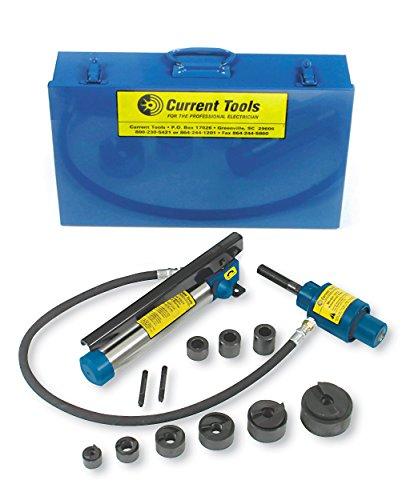 aktuellen Tools 152pm-mc Stück Maker Hydraulische Knockout Set (Metall Fall), 1/5,1cm–5,1cm