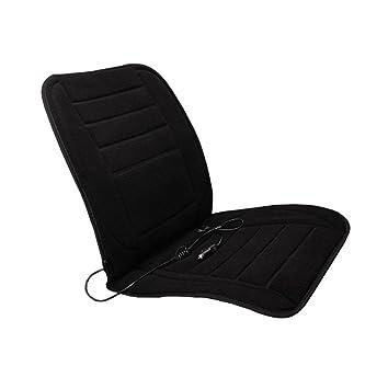 Kingko Black Car Heated Seat Cushion Cover Auto 12V Heating Heater Warmer  Pad Winter Warm Car Seat Chair Cushion Pad (Black): Amazon.co.uk: Car U0026  Motorbike