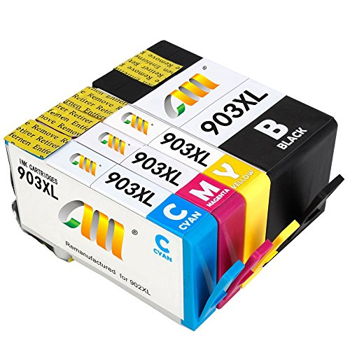 CMCMCM 903 XL 903XL Remanufactured HP 903 XL 903XL Tintenpatronen Kompatibel Für OfficeJet Pro 6950...