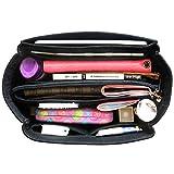 HyFanStr Bag in Bag Organisateur de sac a main feutre sac de rangement Intérieur organisateur de voyage (Noir, S)
