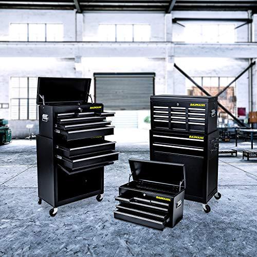 Daimann ct01 carrello da officina portautensili cassettiera attrezzi con ruote