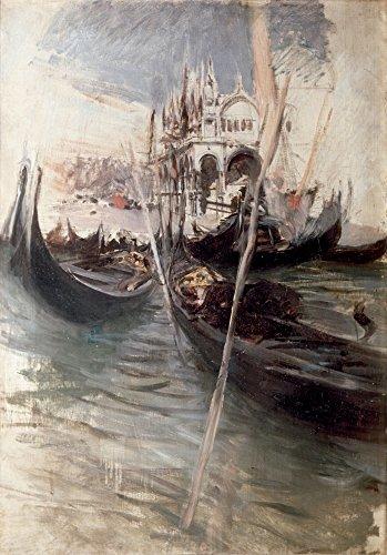 Pier and Saint Marc In Venice (Il Molo E San Marco A Venezia) Poster Drucken (60,96 x 91,44 cm)