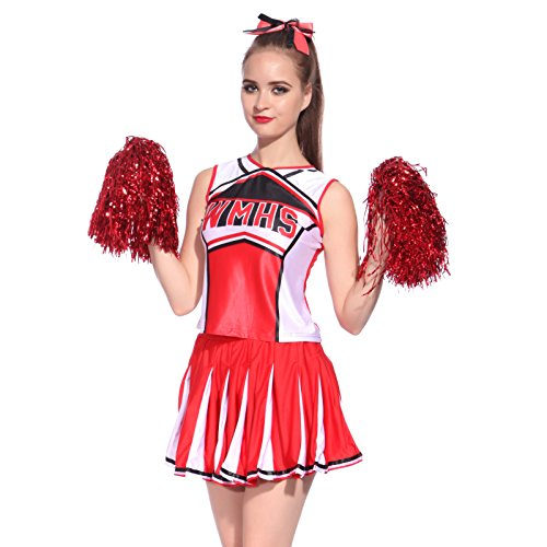 Cheerleader Glee Kostüm - Cheerleader-Uniform, Kostüm für Damen