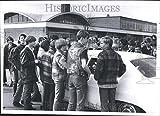 Vintage Photos 1970Press Photo Lincoln Park High School étudiants–Rrv40793