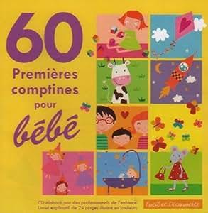 60 Premieres Comptines Pour Bébé
