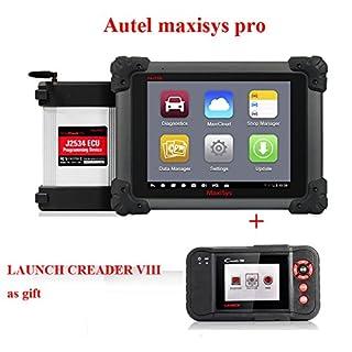 Autel MaxiSys Pro ms908p Automotive Diagnostic & ECU Programmierung System mit J2534umprogrammierung Box Update online Get Creader VIII als Geschenk