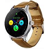 Joyeer Smart Watch Actividad Tracker Reloj de pulsera Bluetooth Smartwatch Monitor de ritmo cardíaco Pedómetro Dialing Business Watch Para Android IOS , black belt