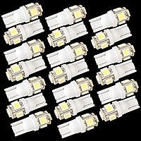 20X T10 5 LED 5050 SMD 168 194 W5W Bombilla Iluminación Coche