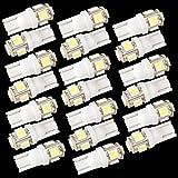 20 LAMPADINE W5W 158 168 147 152 T10 5 LED SMD BIANCO