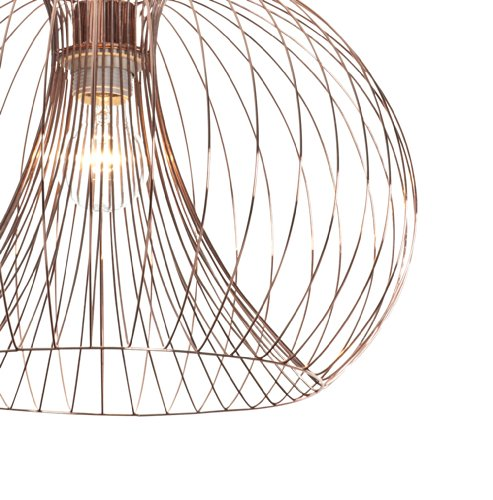 Contemporary modern copper wire ceiling pendant chandelier light contemporary modern copper wire ceiling pendant chandelier light shade greentooth Choice Image