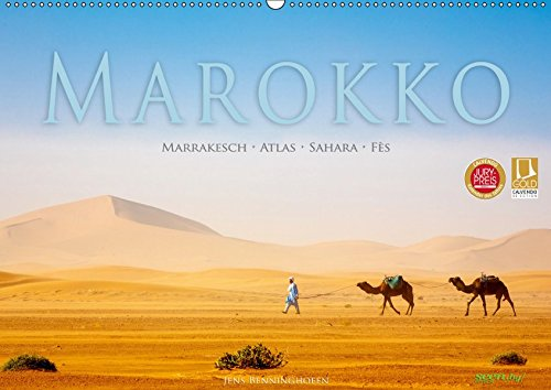 Marokko: Marrakesch, Atlas, Sahara, Fès (Wandkalender 2019 DIN A2 quer): Eine Orientreise durch Marokko (Monatskalender, 14 Seiten ) (CALVENDO Orte) (Marokko-kalender)