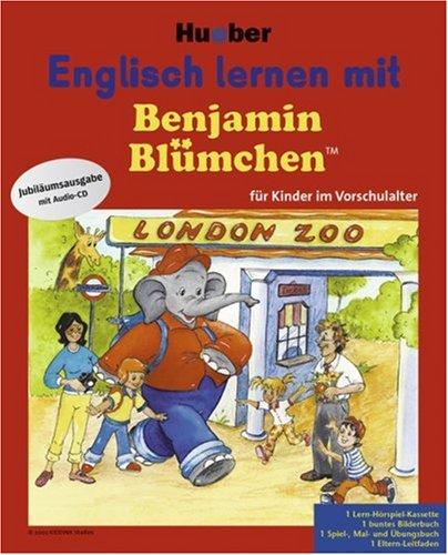 Preisvergleich Produktbild Englisch lernen mit Benjamin Blümchen, Sprachlern-Hörspiel