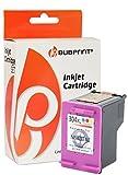Bubprint Druckerpatrone kompatibel für HP 304XL 304 XL HP304XL (N9K07AE) für DeskJet 3720 3730 3732 Ink Advantage 3700 MFP Farbe
