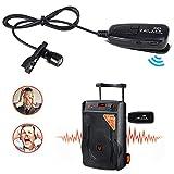 Microphone 2.4G sans fil cravate microphone avec amplificateur vocal pour les enseignants plus fort système de sonorisation PA karaoké