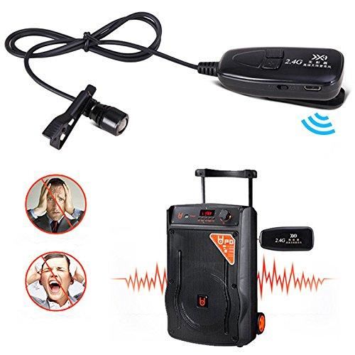 less Krawatte Mikrofon mit Verstärker Vocal für die Lehrer stärkeren PA System PA Karaoke ()