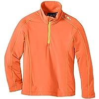 CMP Funktions Skishirt - Chaqueta de esquí para niña, color rojo, talla 10 años (140 cm)