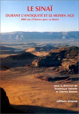 Le Sinaï durant l'antiquité et le Moyen-Age : 4000 ans d'histoire pour un désert par Dominique Valbelle, Charles Bonnet