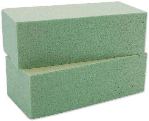 Unbekannt Floracraft Desert Schaumstoff Bausteine verpackt, grün, 2pro Paket - Pkg-floral Design