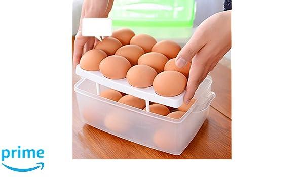 Kühlschrank Eierhalter : Aj etagen ei kapazität eierbehälter für kühlschrank hikeren