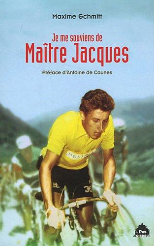 Je me souviens de maitre Jacques