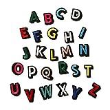26Stickerei Bunte Buchstaben Alphabet Sew Eisen auf Patch Badge Taschen Hat Jeans dreidimensionale Aufnäher