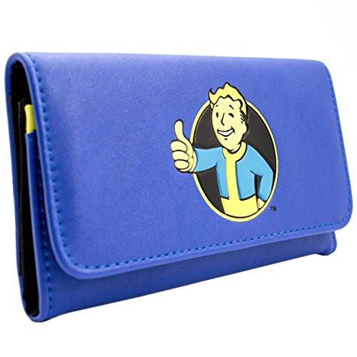 Bethesda Fallout 4 Thumbs Up Vault Blau Portemonnaie Geldbörse (Fallout New Vegas Cosplay Kostüm)