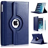 iPro Products Rotating 360 Degree PU Leather Case Cover for iPad 2/3/4