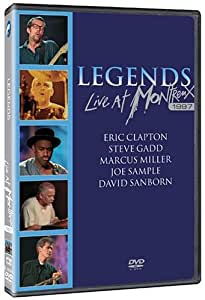 Various Artists - The Legends: Live at Montreux 1997