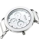 BERING Damen-Armbanduhr Analog Quarz Edelstahl 11438-754