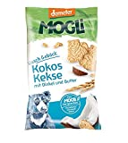 MOGLi Bio Demeter Kokos Dinkel Kekse 50g 12er Pack