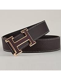 KOUG ceinture d homme en cuir façon simple bon boucle lettre d occasionnels  ceinture 6c02d86cee5