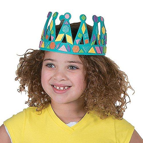sgummi Prinz Prinzessin König Geburtstag Bastelset Kinderparty DIY (Diy-king-krone)