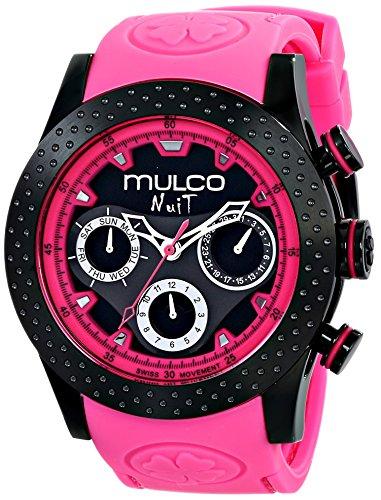 Mulco MW5-1962-058 - Orologio da polso, plastica, colore: rosa